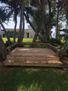 Everlast Pine Decking wooden floor