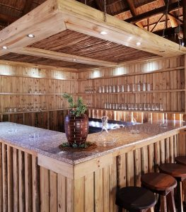 Everlast Pine Decking wooden bar